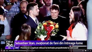Sebastian Stan on the Romanian news - with subs - Source : Digi24