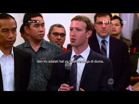 Jokowi Bahas Manfaat Facebook di Indonesia Bareng Mark Zuckerberg -NET24