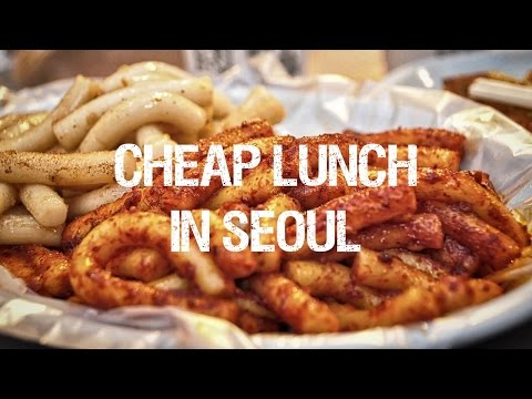 Cheap Lunch in Seoul - What's the Price Range? [TalkToMeInKorean]