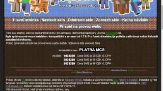 Minecraft [TUTORIAL] jak si dát skin do warez minecraft aby ho viděli i ostatní