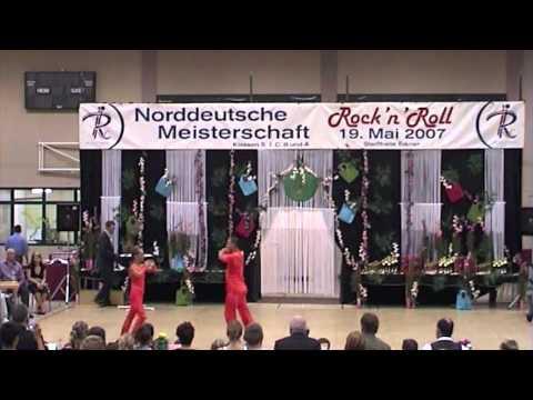 Nina Reppich & Achim Sorge - Norddeutsche Meisterschaft 2007