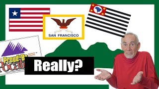 The Worst & Weirdest Flags in the World