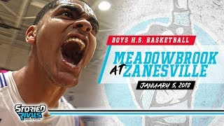 HS Basketball   Meadowbrook at Zanesville [1/5/18]