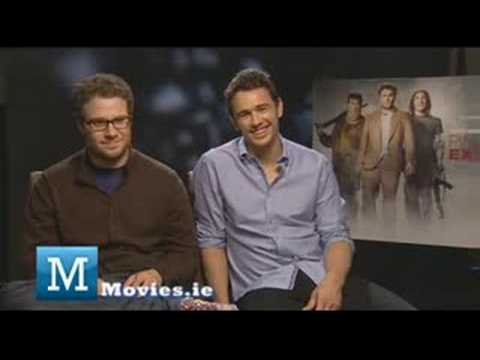 Interview with Seth Rogen and James Franco - Oscars 2009 - Pineapple Express