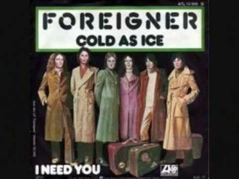 Song Ice Cold Cold as Ice Foreigner 1977