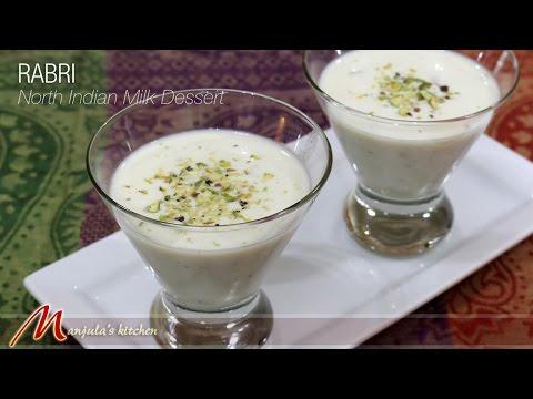 Rabri – North Indian Milk Dessert by Manjula