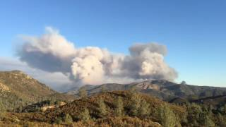 California's Detwiler Wildfire Burns 15,500 Acres