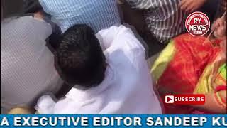 BEGUM BAZAR PEOPLES PROTEST AGAINEST TULJA BHAVANI WINES SHOP AT BEGUM BAZAR CHATRI