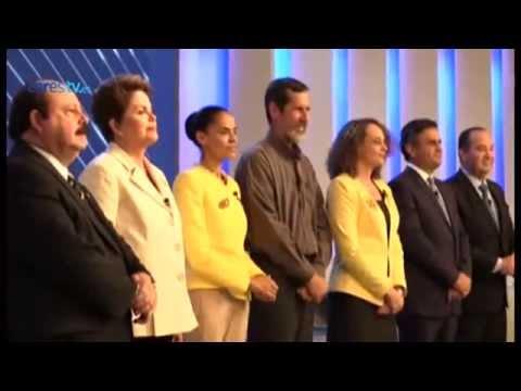 El último debate en Brasil deja abierta la disputa entre Rousseff, Silva y Neves
