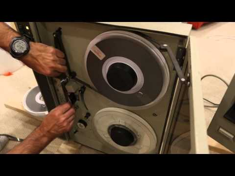 HP and Overland 9-Track Tape Drives Demo