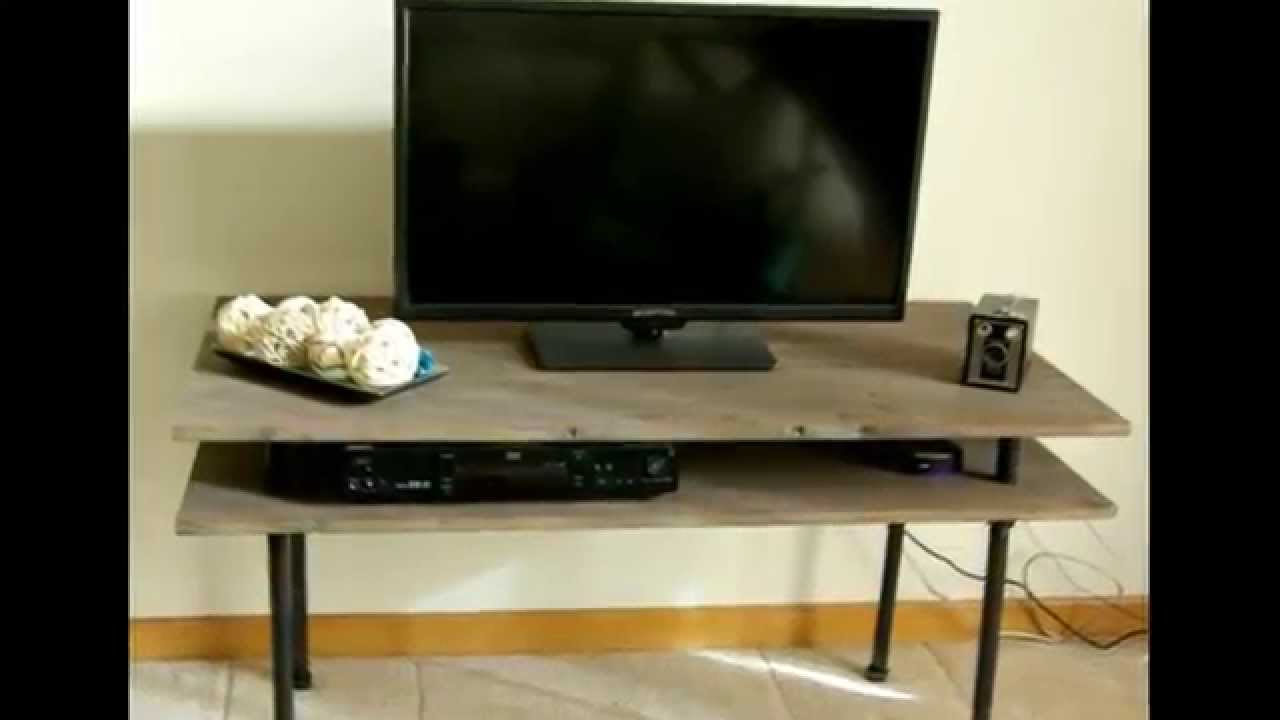 Как своими руками сделать подставку под телевизор