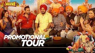 Promotional Tour | Laavaan Phere | Roshan Prince | Rubina Bajwa | Gurpreet Ghuggi