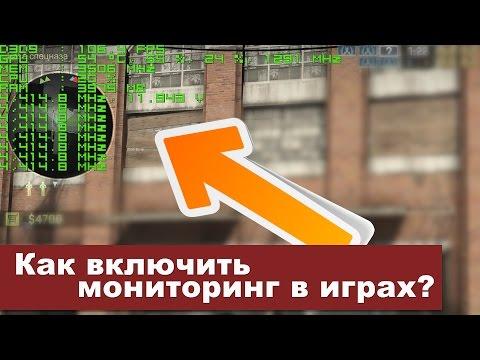 Мониторинг процессора и видеокарты в игре