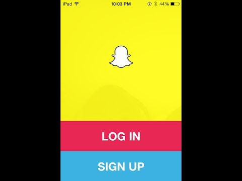 Download Snapchat to the iPad (All Gens)