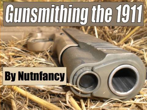 Gunsmithing the 1911:  Trigger Job by 