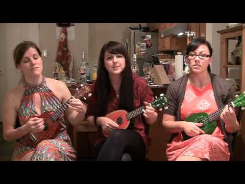 RED HANDS - Walk off The Earth - Fruity Ukuladies cover sponsored by PIC'D WINES!
