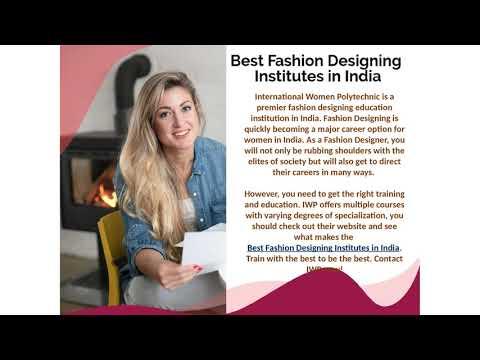 Fashion Designing Institutes India