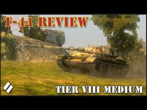 World of Tanks: T-44 Tier VIII Medium Tank Revi