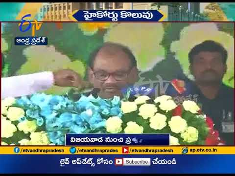 Praveen Kumar takes oath as Chief Justice of AP High Court