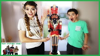 The Toy Collector Part 1 - Mysterious Surprise Nutcracker / That YouTub3 Family I Family Channel