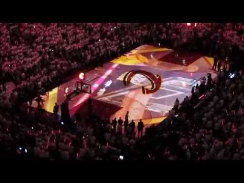 VLOG: Cleveland Cavaliers 2015 Play-Off Game 1 INSANE CROWD!