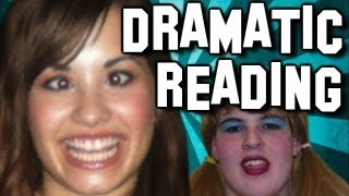 A Dramatic Reading of Demi Lovato Fantard Comments