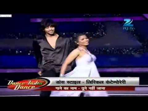 Tune Mere Jana Kabhi Nahi Jana Dance India Dance Season 3 Jan14  2012 video