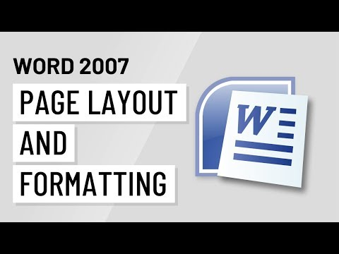 Word 2007 Page Layout