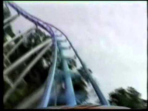 Drachen Fire POV Front Seat Roller Coaster Busch Gardens Williamsburg VA