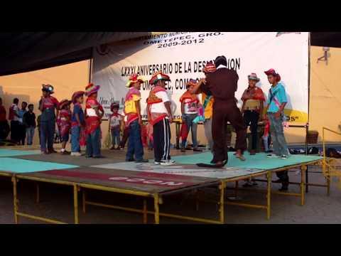 Representación de la Danza del Tigre del Barrio de Fátima Ometepec, Guerrero