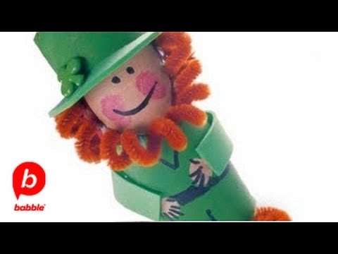 How To Make A St Patrick S Day Cardboard Leprechaun