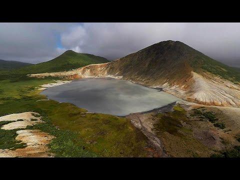 Озеро Кипящее. Кунашир. Курильские острова.