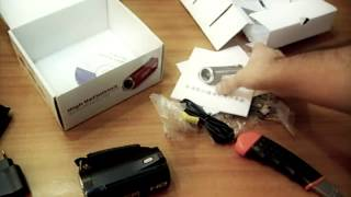 Videocamera HD DV-328  - UNBOXING