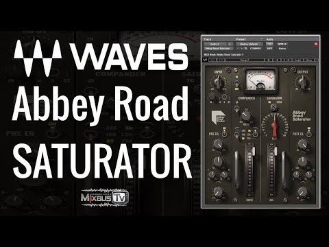 Waves Abbey Road Saturator - Review Demo