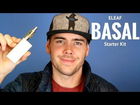 ELEAF BASAL Starter Kit (W/ NKD 100 Salt Lava Flow)