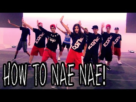 How To Nae Nae | Dance Tutorial Ft The Iconic Boyz (hip Hop Moves) video