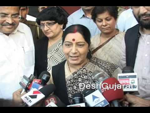 Sushma Swaraj on Narendra Modi, Prime Minister candidate, Gujarat election and more