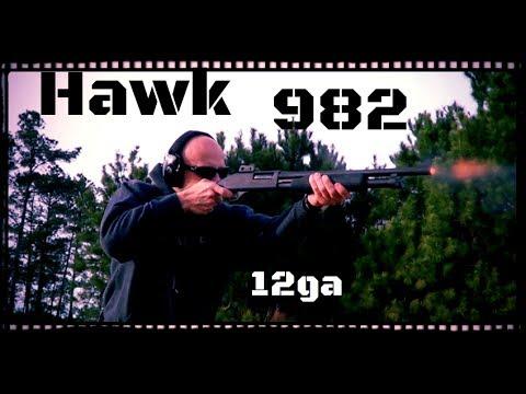 IAC Hawk 982 Shotgun: 12ga Remington 870 Clone Review (HD)