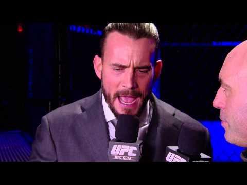 CM Punk UFC 181 interview