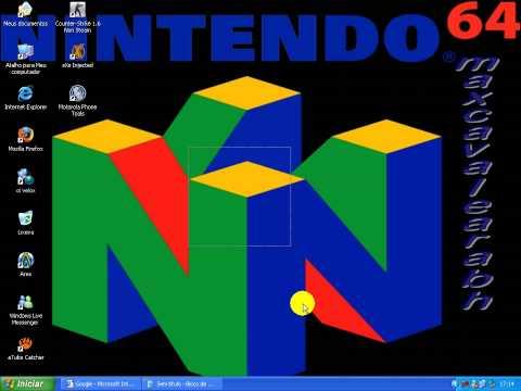 como configurar e jogar no emulador de nintendo 64