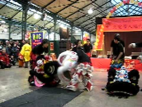 Lion Dancing Ireland Year Lion Dance Belfast