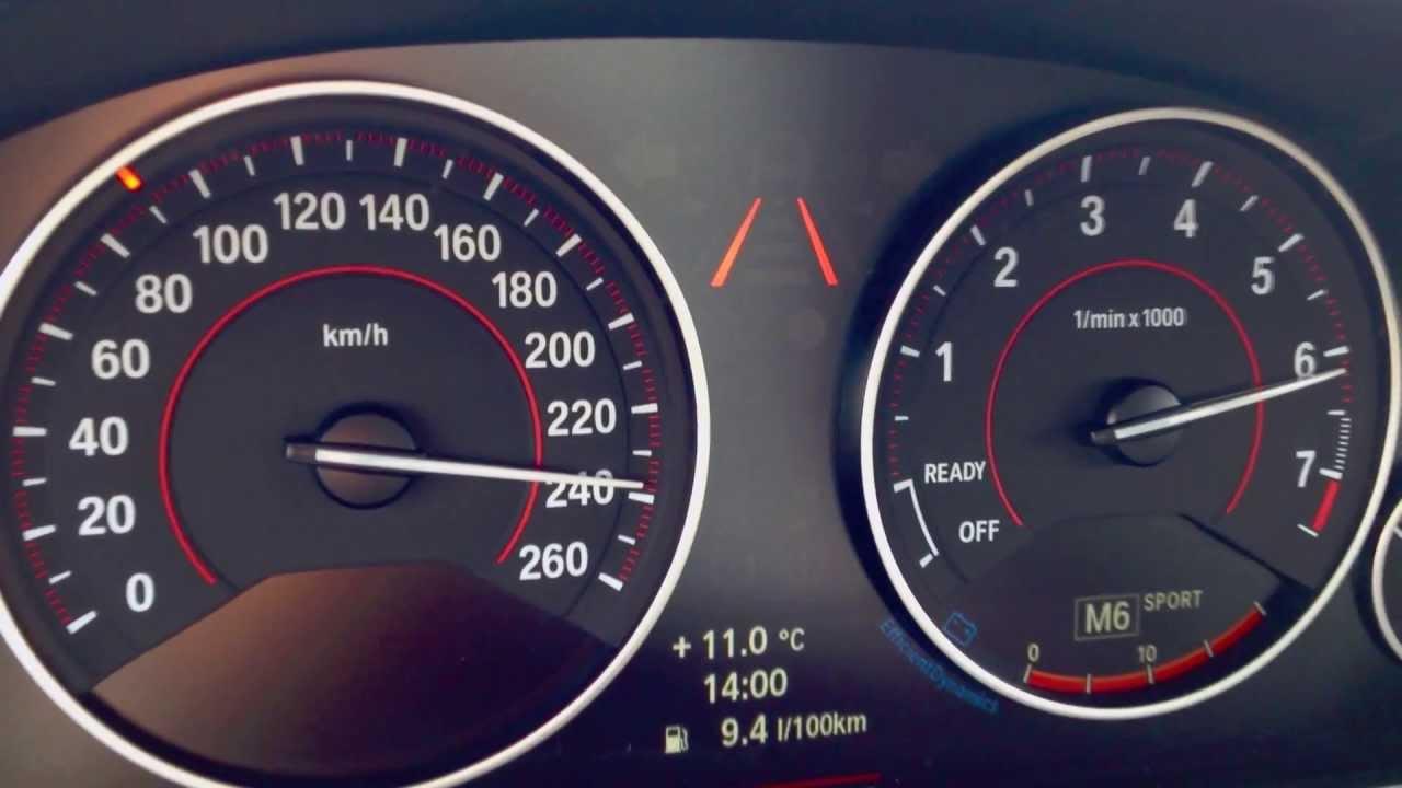 Bmw F30 328i Beschleunigung Acceleration 0 100 100 200
