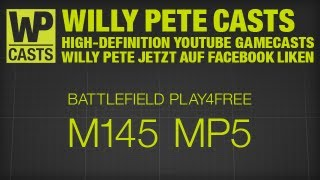 Battlefield Play4Free / Mashtuur / M145 Sight / Engineer / Supply Drop / MP5 & MP7 / 1080p / Deutsch