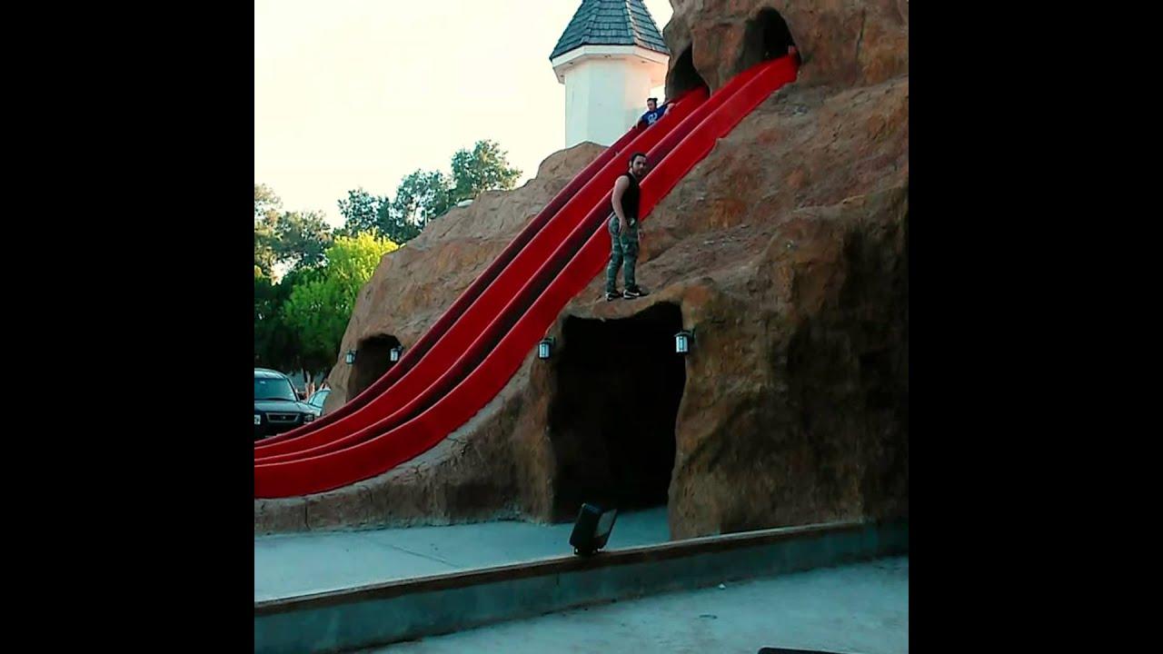 Mortal para atr s en el parque viveros nuevo laredo for Viveros en salto