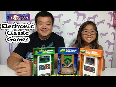 Mattel Electronic Handheld Classic Games Football Baseball Basketball Review