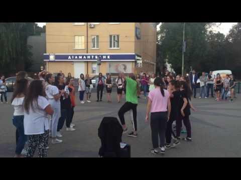 Вуличні танці у Тернополі