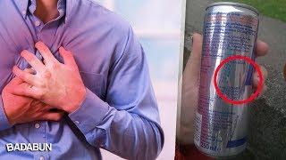Los grandes peligros de las bebidas energéticas