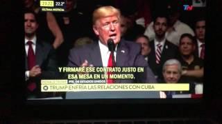 Trump decidió cancelar la política de deshielo hacia Cuba de Obama
