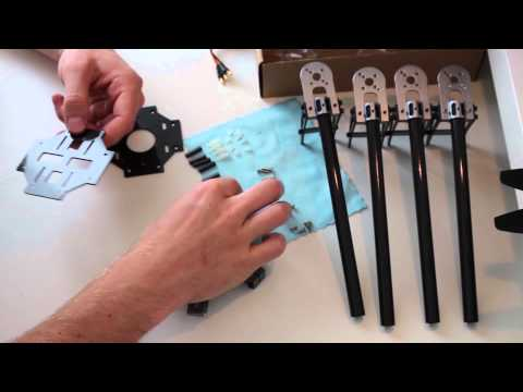 Basic Quadcopter Tutorial - Chapter 2 - Frame Construction