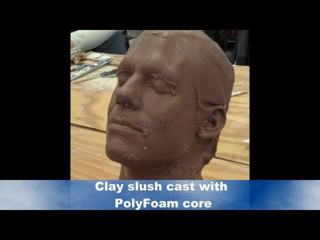 Lifecasting: Creating a Full Head Mold, Demolding and Unrectified Clay Cast